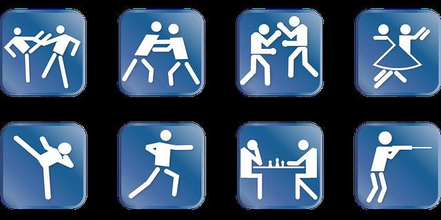 catégories de sports